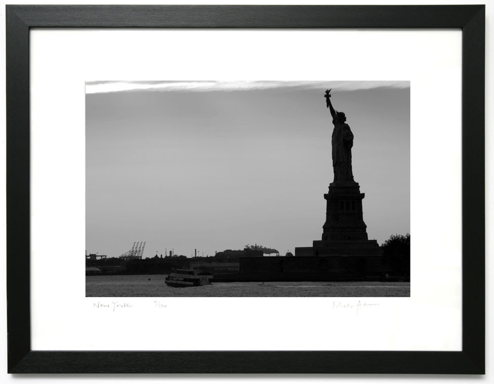 Framed Print Of New York Statue Of Liberty 4 New York Mark