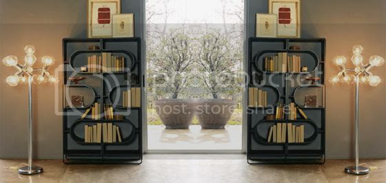 DNA bookcase by Linfa Design