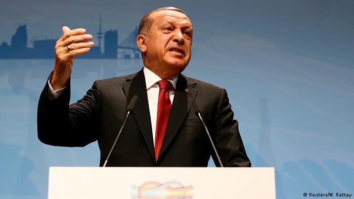 G20 Hamburg Erdogan PK (Reuters/W. Rattay)
