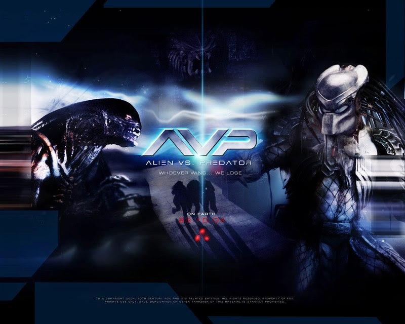 AVP Alien vs Predator Movie Poster