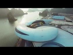 Flycam Cung Triển lãm Cá heo Hạ Long