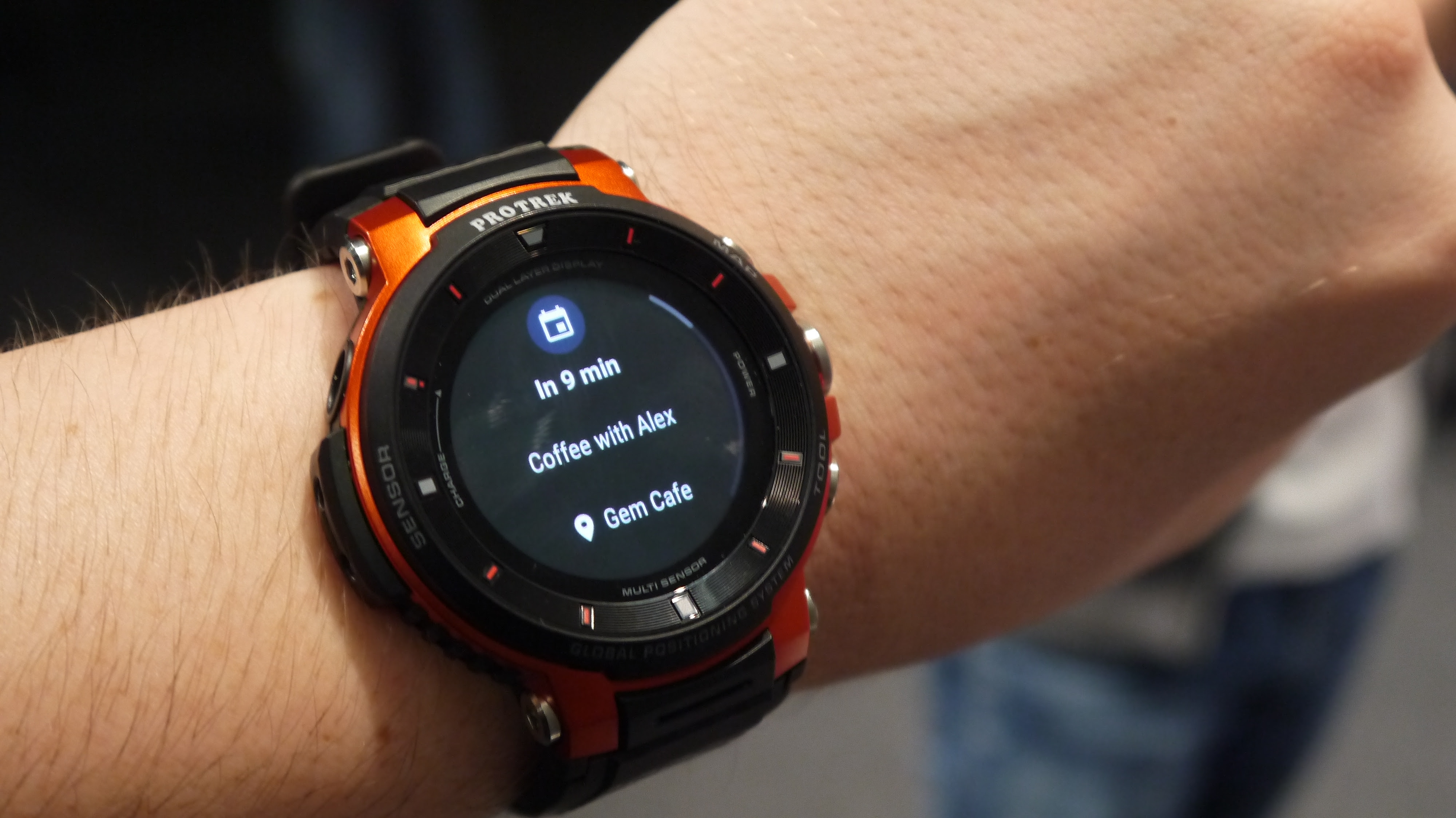 59909182e91e The latest watch from Casio comes with the latest version of Google s Wear  OS software onboard
