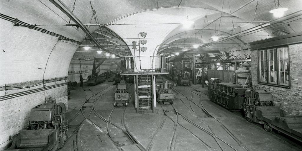O correio ferroviário subterrâneo de Londres 09