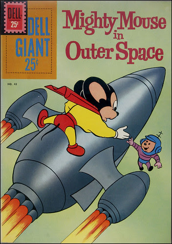 Mighty Mouse in Outer Space