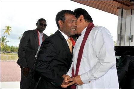Maldives President meets SL President