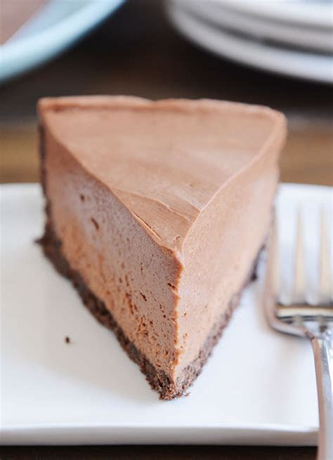 No Bake Creamy Chocolate Cheesecake Pictures, Photos, and