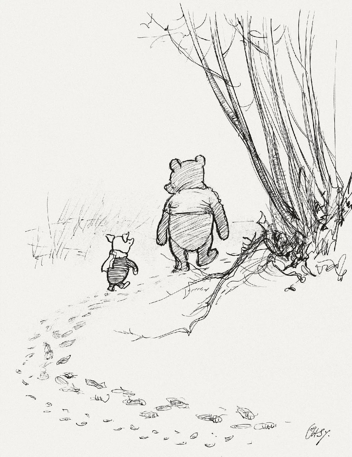Classic Winnie The Pooh Drawing At Getdrawings Free Download