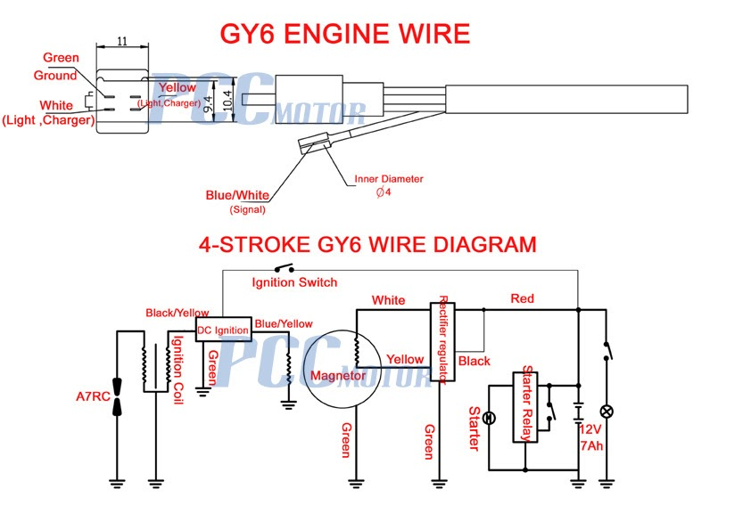 77 Wiring Diagram For 50cc Scooter