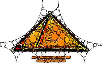 Arte del Problema de Geometría 109 usando Aplicaciones Móviles.