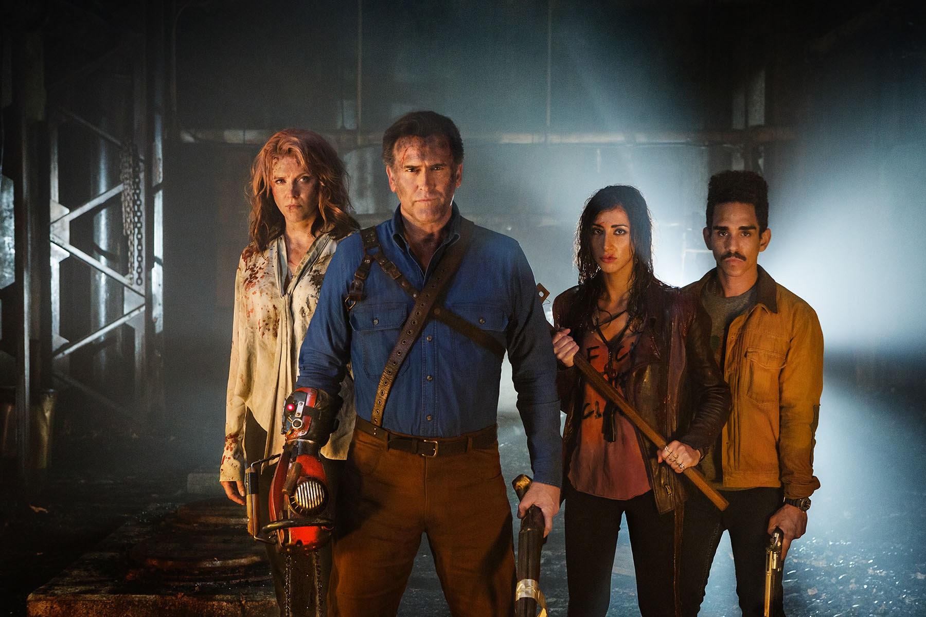 Starz cancels Ash vs Evil Dead after third season screenshot