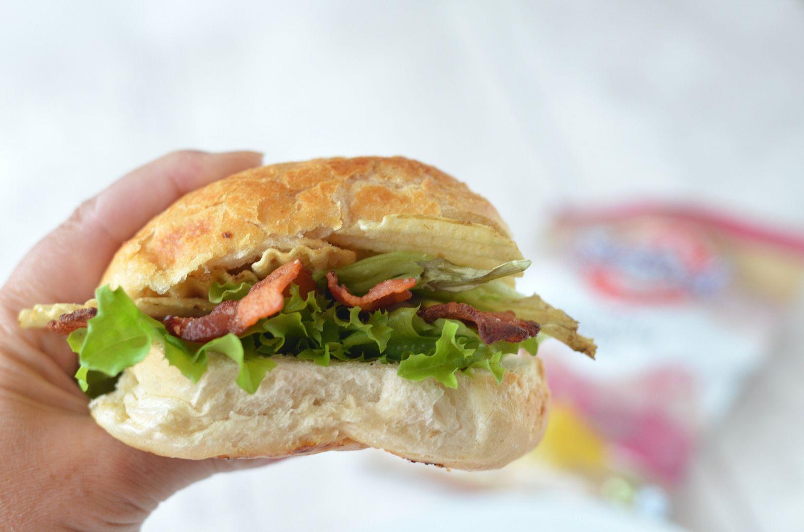 Bacon, Lettuce & Crisp Sarnie #crispsarnieweek