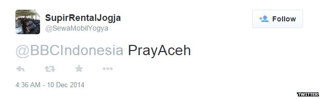 Pray Aceh