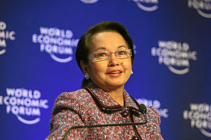 Gloria Macapagal Arroyo, President of the Phil...