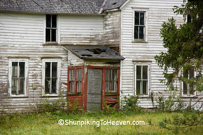 Forgotten Farmhouse, Winona County, Minnesota