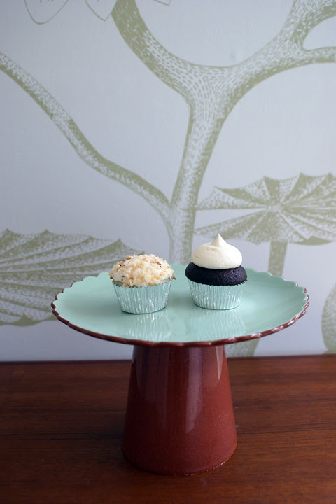 love! duo of mini cupcakes