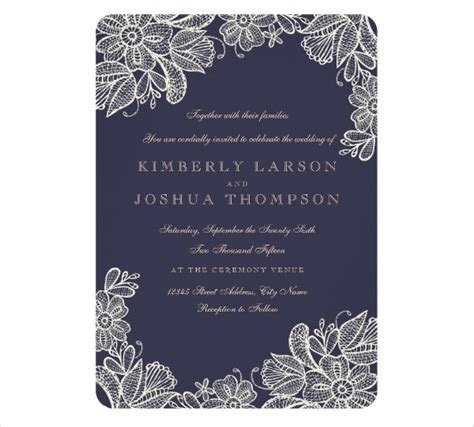 10  Wedding Invitation Card Templates   PNG, EPS   Free