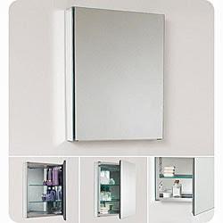 Small Bathroom Mirrors on Fresca Small Bathroom Mirror Medicine Cabinet   Overstock Com