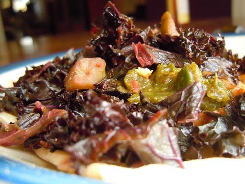 Tempeh Taco w Kale n Chili paste