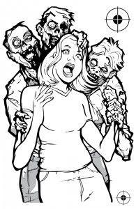 Sam & Diane: Zombie hostage target makes target shooting more fun ...