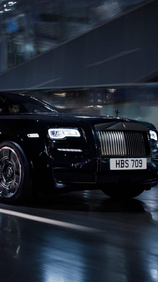 Black Rolls Royce Wallpaper Artistic Joyful