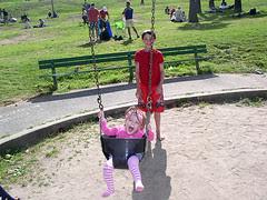 Edie Swinging
