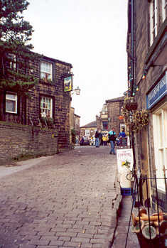 Haworth Main Street, Haworth, Bronte Country, West Yorkshire