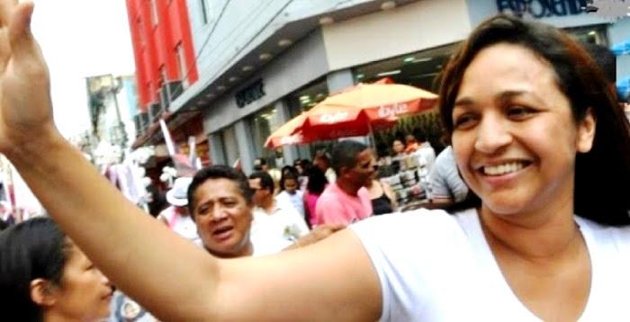 Eliziane Gama: o alvo a ser atingido nesta campanha