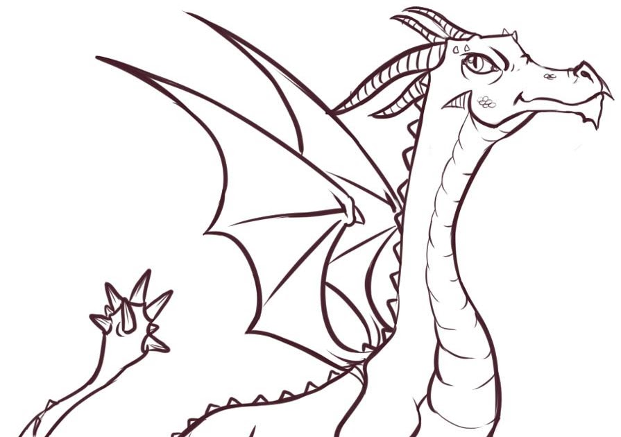 how to draw a dragon step by step pictures