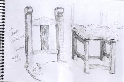 EDM #30 - draw a chair - sketch