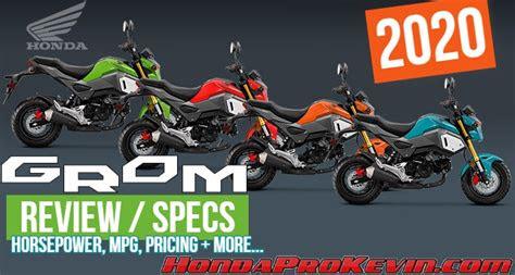 honda grom  review specs cc mini bike