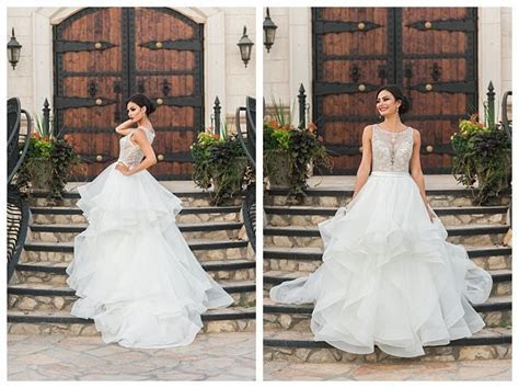 Ruffled ballgown wedding dress, Allure C380, by Gateway