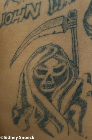 Death Tattoos Adorn Body Art