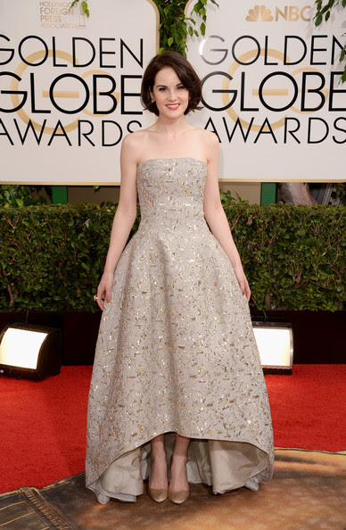 Michelle Dockery - 71st Annual Golden Globe Awards - Arrivals