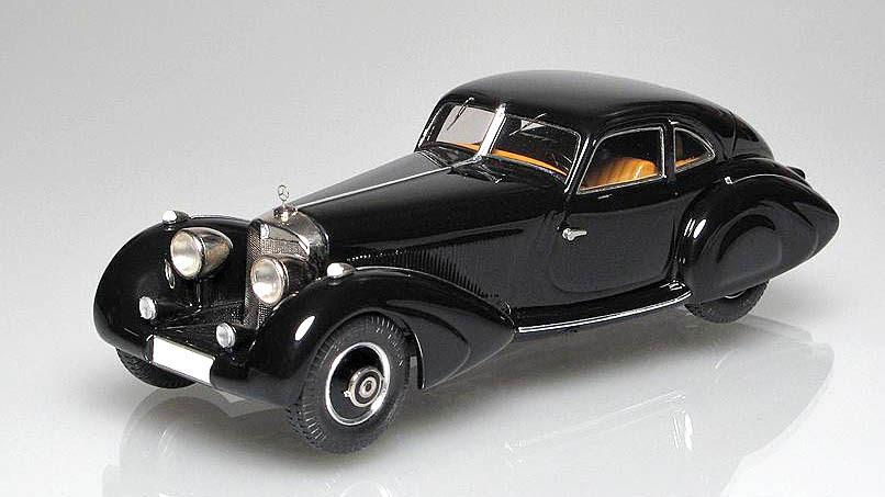 EMC: 1936 Mercedes-Benz 500K 'Autobahnkurier' im 1:43 maßstab - mDiecast