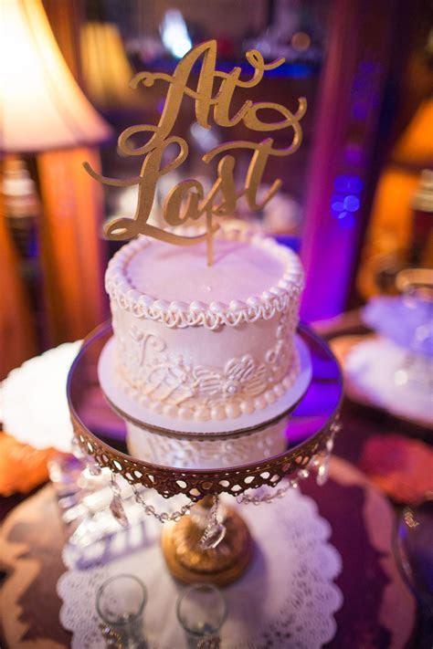 Calligraphy Wedding Cake Topper   Cakes   Pinterest