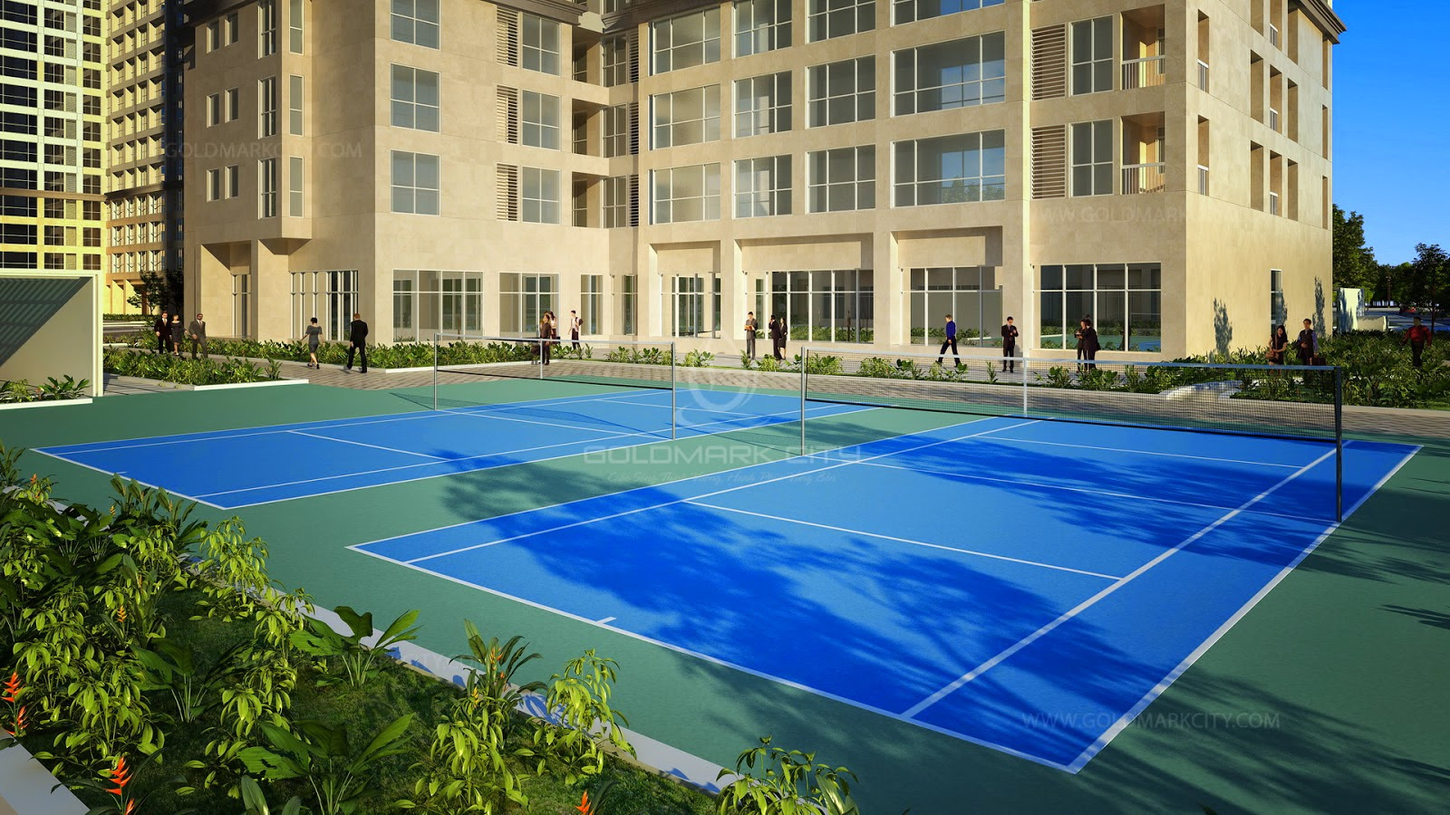 Sân Tennis Goldmark City