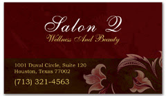 BCS-1011 - salon business card