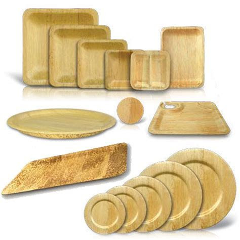 Bamboo Disposable Square Plates in 2019   Sustainable