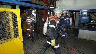 """Tasques de salvament a la mina """"Severnaya"""" a la ciutat de Vorkuta"""