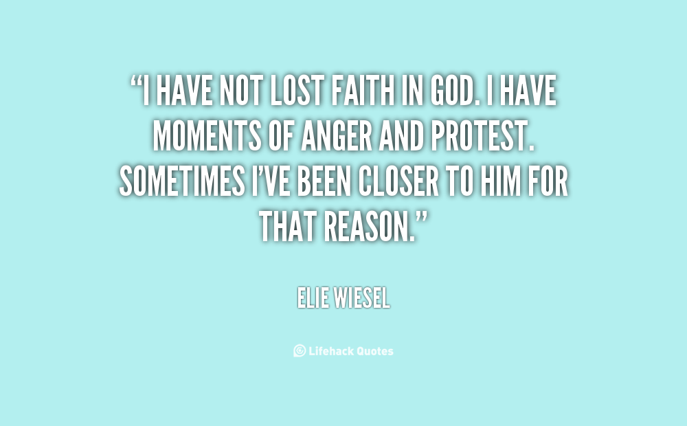 Quotes About Elies Faith 21 Quotes