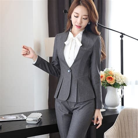 High grade Viscos Fabric Two Piece Formal Pant Suit Ladies
