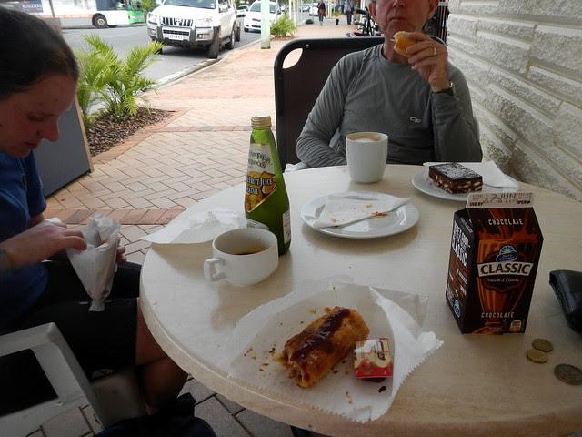 Lunch at Landsborough
