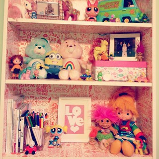 Day145 Bookcase in my office 5.25.13 #jessie365