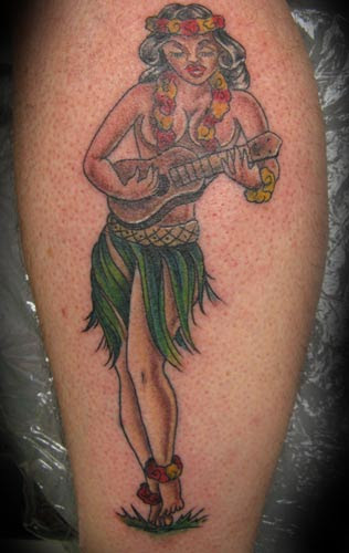 Tattoo Missing · Molly the Sailor Girl Sailor Jerry-ish.