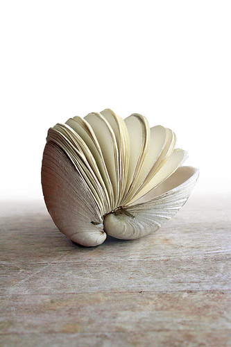 Clamshell Book Sculpture