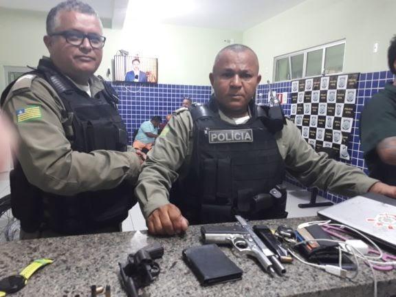 Policial Civil de Chaval é assaltado em Parnaíba e tem arma levada
