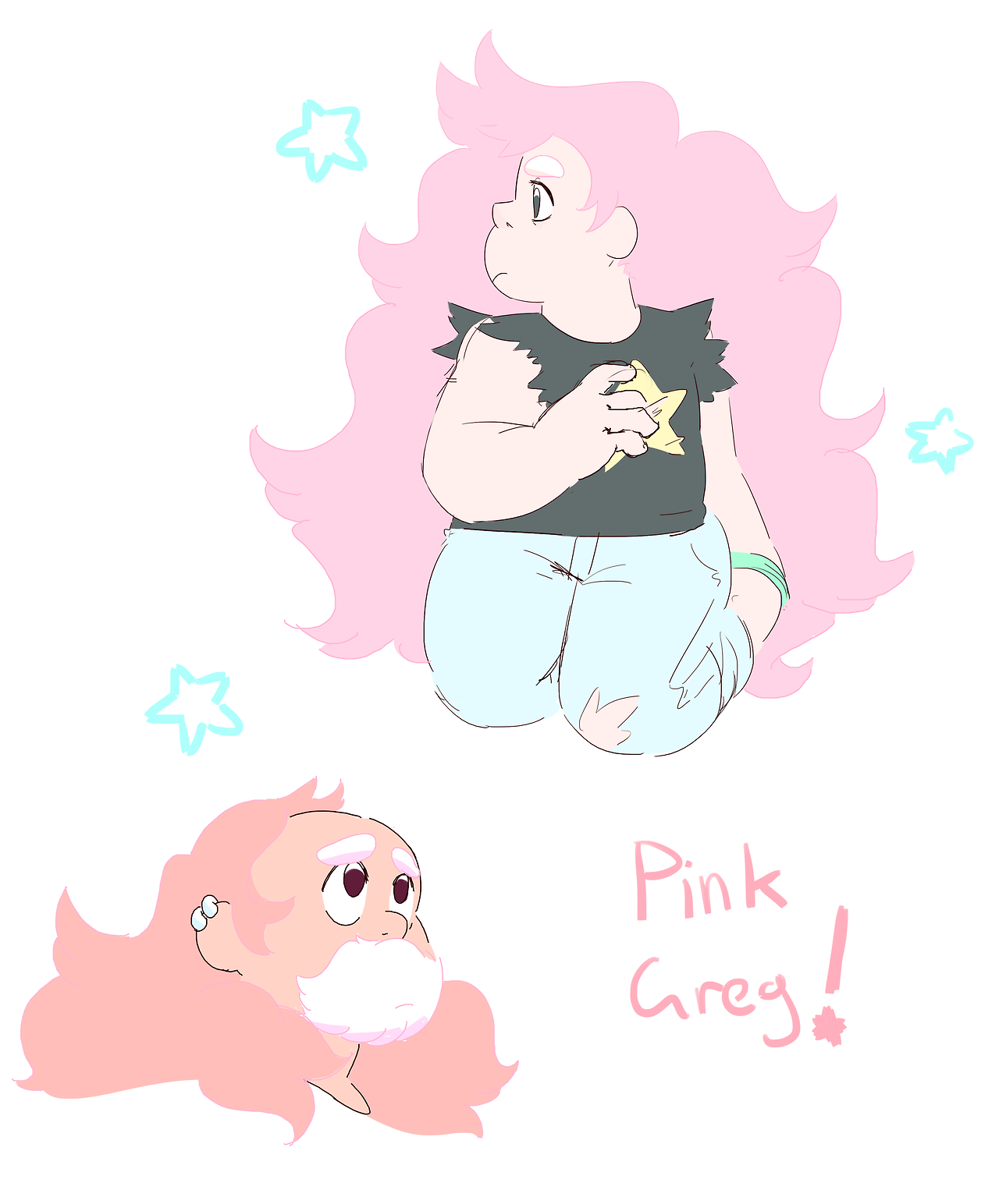 an au me n my bf have been talking abt. making pink color palettes is really hard