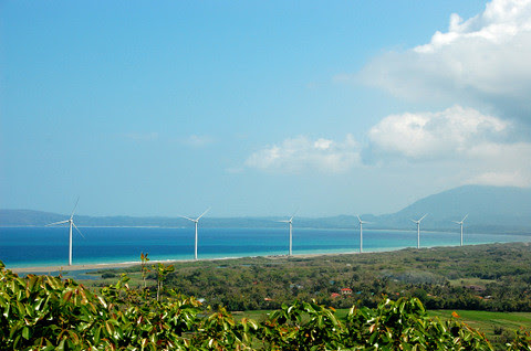 Bangui Bay windmills