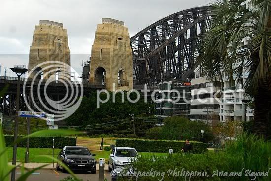 Sydney Harbour Bridge from Milson Point