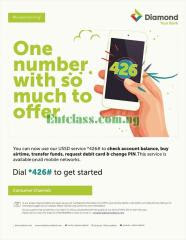 Diamond Bank Introduces *426# USSD Code For Easy Banking